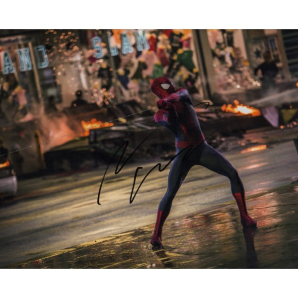 Andrew Garfield Spiderman genuine signed authentic autograph photo COA