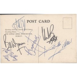 Rolling Stones full signed Jagger Richards signed genuine signature autograph