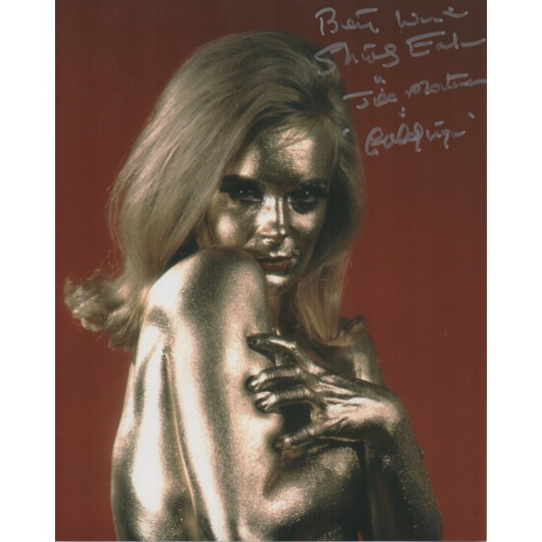 Shirley Eaton Goldfinger James Bond genuine signed autograph photo 8