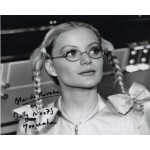 Blanche Ravalec James Bond signed authentic genuine photo COA UACC AFTAL