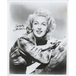 Lana Turner signed authentic genuine autograph photo COA UACC AFTAL