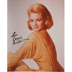 Angie Dickinson signed authentic genuine autograph photo COA UACC AFTAL