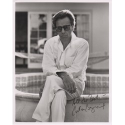 Peter Bogdanovitch signed authentic genuine autograph photo COA UACC AFTAL