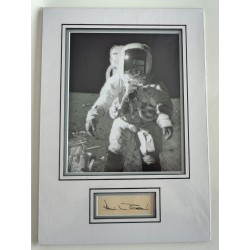 Alan Bean Apollo signed genuine signature autograph display COA RACC