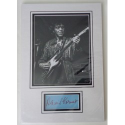 Alexis Korner blues signed authentic genuine signature autograph display