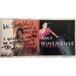 "Amy Winehouse ""Frank"" signature genuine authentic signed autograph CD AFTAL"