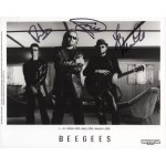 Bee Gees Robin Barry Maurice authentic signed autograph signature photo