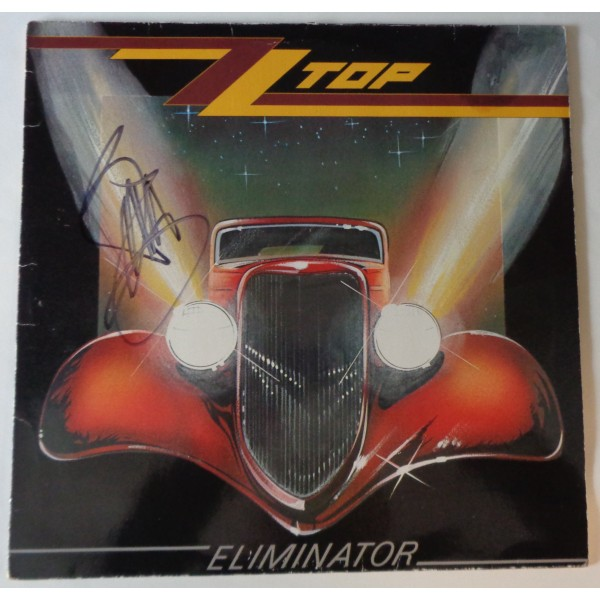 Billy Gibbons ZZ Top authentic signed autograph album COA RACC