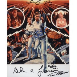 Buck Rogers cast Gerard Gray Silla signed genuine signed authentic signature photo