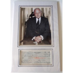 Cecil B. DeMille films genuine signed authentic autograph photo display