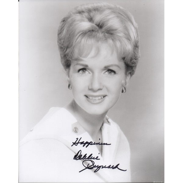 Debbie Reynolds authentic genuine signed autograph photo COA UACC
