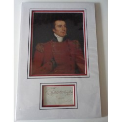 Duke of Wellington Arthur Wellesley genuine authentic autograph signature and photo