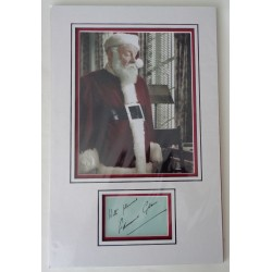Edmund Gwenn Miracle 34th Street signed authentic signature autograph display