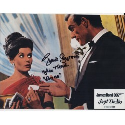 Eunice Gayson James Bond signed authentic signature autograph photo COA UACC