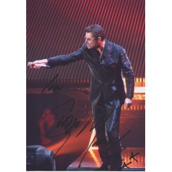George Michael Wham signed authentic genuine autograph image COA UACC AFTAL