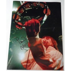 Ian Brown Stone Roses large authentic signed autograph photo COA RACC