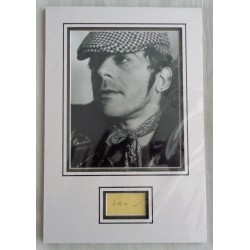 Ian Dury blockheads genuine signed authentic autograph photo display COA UACC