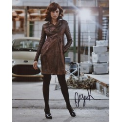James Bond Olga Kurylenko genuine signed authentic signature photo