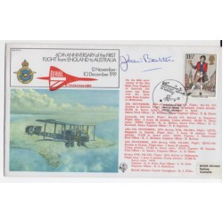 Jean Batten England Australia signed authentic signature autograph FDC COA