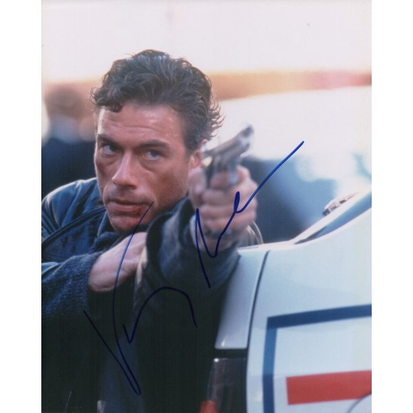 Jean Claude Van Damme genuine signed authentic autographs photo COA
