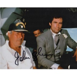 John Glen James Bond genuine authentic signed autograph photo COA