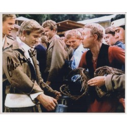 John Leyton Steve McQueen genuine signed authentic signature photo COA UACC