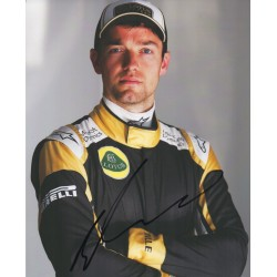 Jolyon Palmer Lotus F1  genuine authentic signed autograph photo