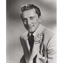 Kirk Douglas signed authentic signature autograph photo COA UACC