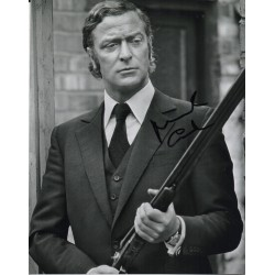 Michael Caine signed authentic genuine autograph photo COA UACC RACC
