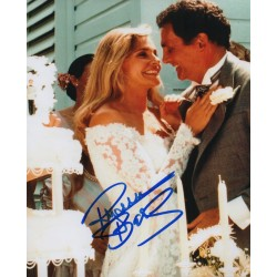Pamela Barnes David Hedison authentic genuine signed autograph photo COA AFTAL
