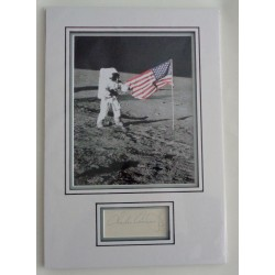 Pete Conrad Apollo signed genuine signature autograph display COA RACC