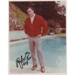 Robert Vaughn Man From Uncle etc genuine signed authentic signature photo