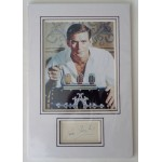 Rod Taylor Time Machine signed authentic genuine signature autograph display