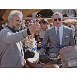 Sam Mendes James Bond genuine authentic signed autograph photo COA