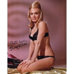 Shirley Eaton Bikini James Bond signed autograph photo COA RACC