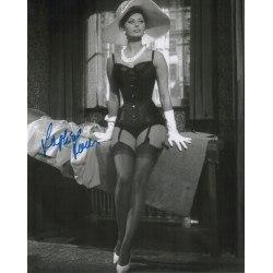 Sophia Loren actress authentic genuine signed autograph photo COA