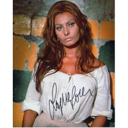 Sophia Loren genuine signed authentic signature photo 6 AFTAL