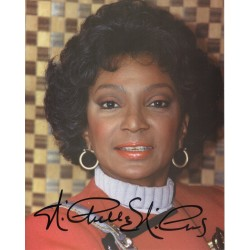 Star Trek Nichelle Nichols signed original celebrity authentic autographs image COA
