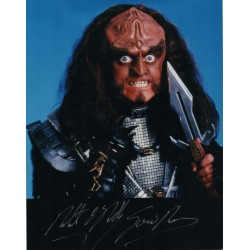 Star Trek Robert O'reily signed original genuine autograph authentic photo