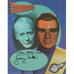 Thunderbirds Jeremy Wilkins genuine authentic autograph signed image.