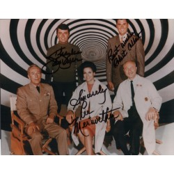 Time Tunnel James Darren Colbert Meriwether signed authentic genuine photo