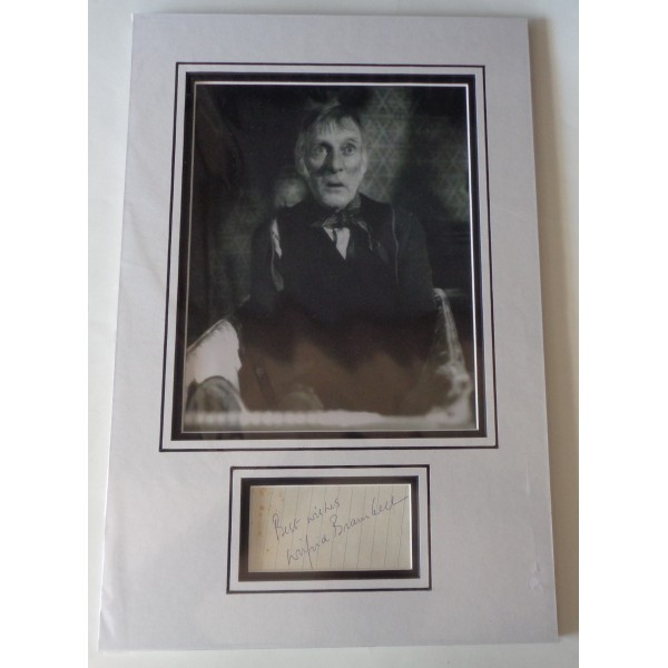 Wilfred Brambell Steptoe signed genuine signature autograph display