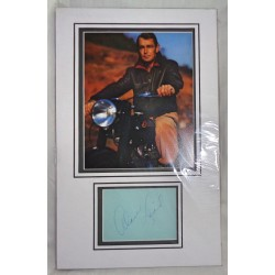 Alan Ladd genuine signature signed autograph display photo