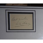 Will Hay Oh Mr Porter etc comedy genuine signature signed autograph display photo