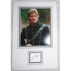 Sean Bean Sharpe genuine signature signed autograph display photo