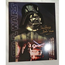 Dave Prowse Darth Vader Star Wars genuine signed authentic signature image