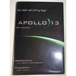 Jim James Lovell Apollo 13 authentic genuine signed autograph book 2 COA