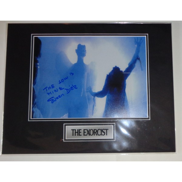 Eileen Dietz Exorcist horror authentic genuine signed autograph photo AFTAL