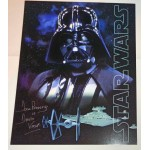 Dave Prowse Darth Vader Star Wars signed authentic signature image COA UACC