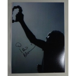 Ian Brown Stone Roses genuine authentic autograph signed photo UACC